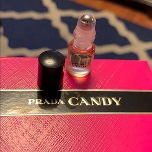 Set of four mini Prada fragrance
